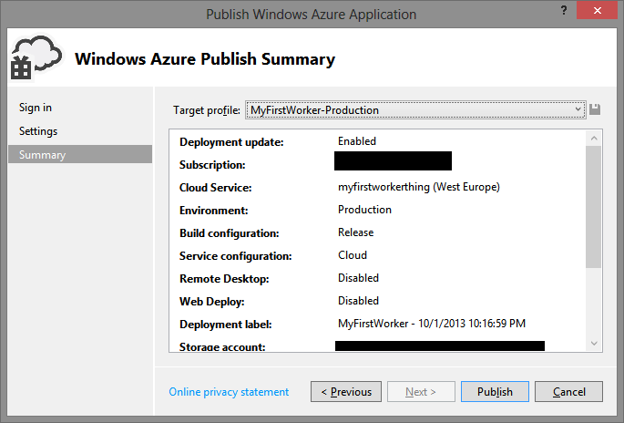 how to avoid automatic windows update in azure cloud service